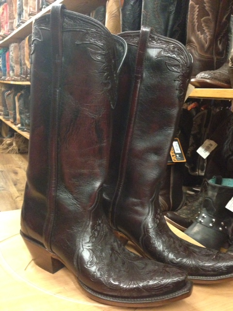 The Beautiful Lucchese's, they only run $1,500