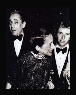 Lane with his dear friend Diana Vreeland. Photo courtesy of dianavreeland.com