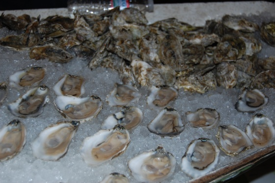 Island Creek Oysters...impossible to resist