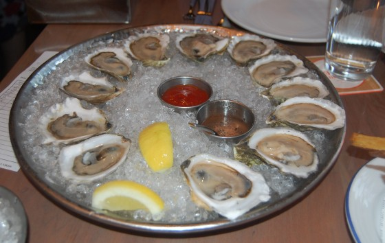 A dozen of Island Creek Oyster Bar's best