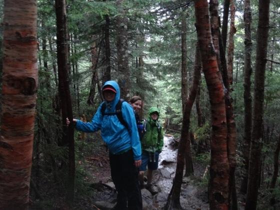 After a least an hour of rain. Photo courtesy of Nicole Richards.