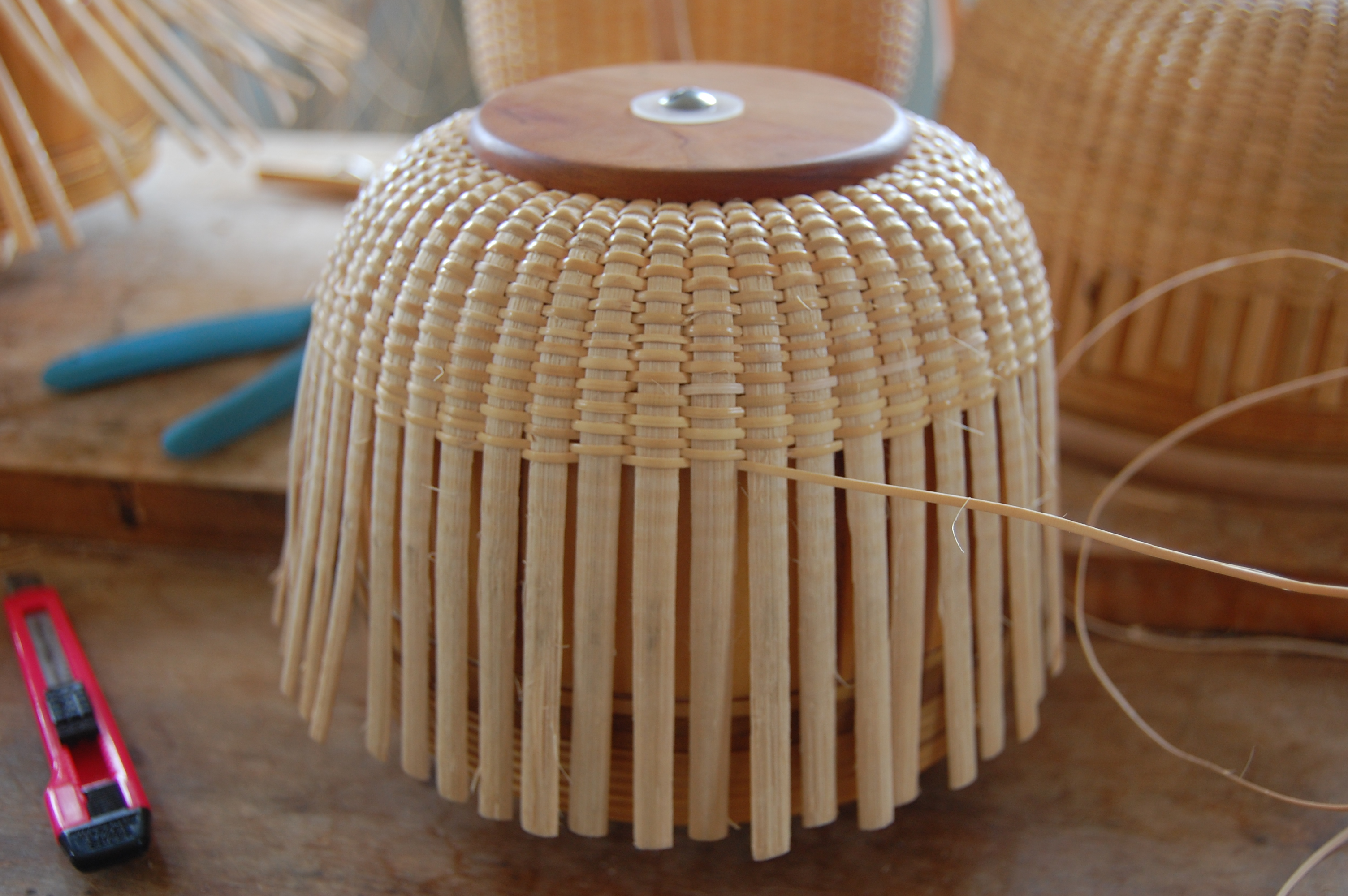 Basket Weaving Molds : How to make a nantucket basket the great wide open