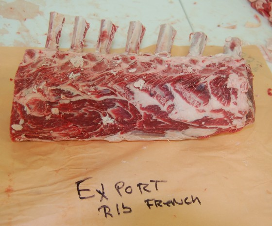 Lots of ribs