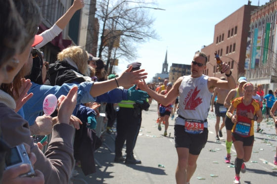 That's how to finish up a marathon