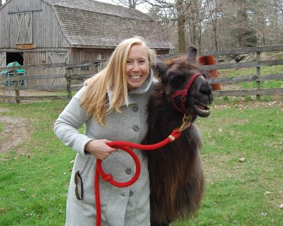 Me and my llama